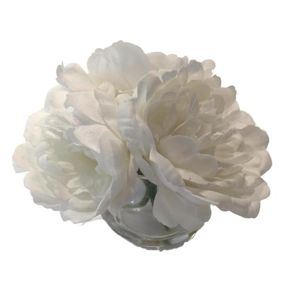 """""""Round"""" Warm White Flower Collection"""