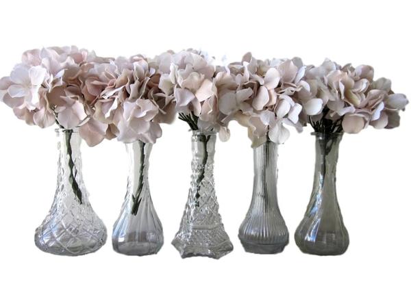 Vintage Clear Vases