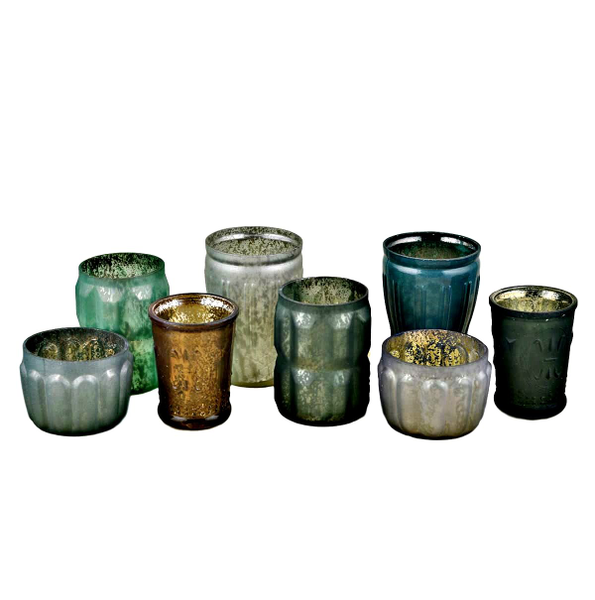 """""""Nature"""" Candle Holder 8 Piece Sets"""
