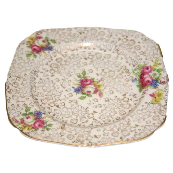 """Chelsey"" Cake Serving Plate"