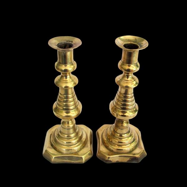 Brass Candlesticks #330