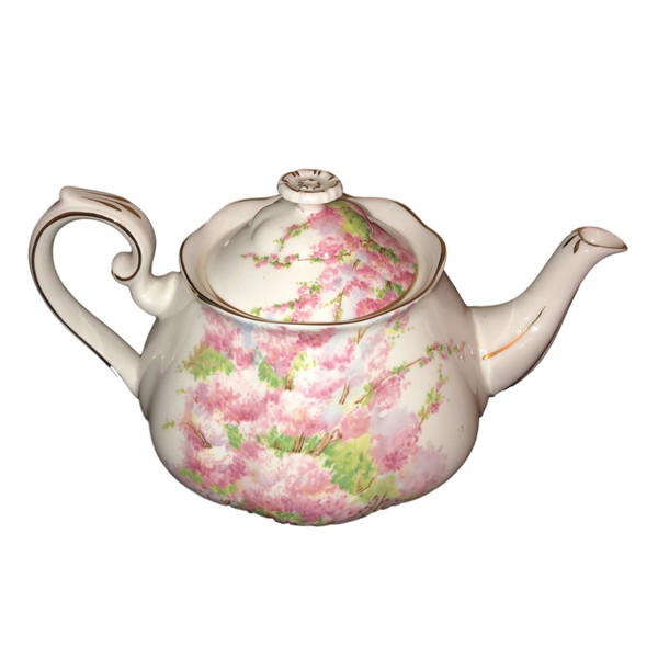 Vintage Blossom Time Teapot