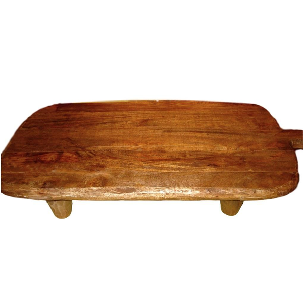 Large Wooden Board with Feet