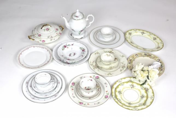 Eclectic Vintage Dinner Plate