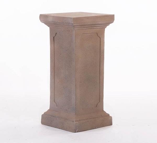 Faux Stone Plinth Stand