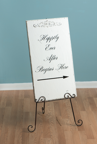 Sign-Happily Ever After Begins Here