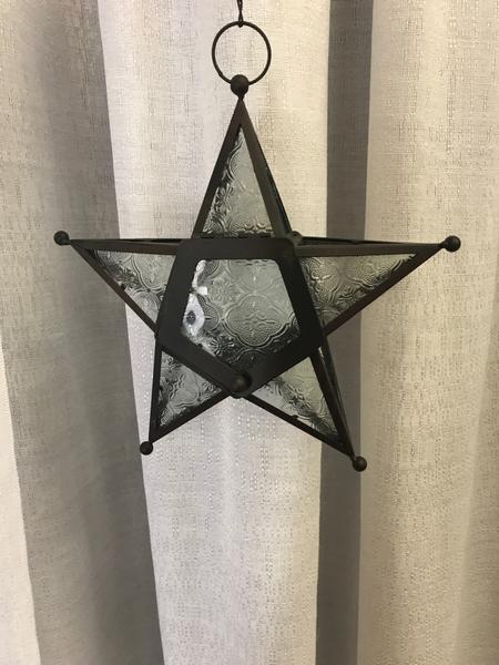 Black Glass Star