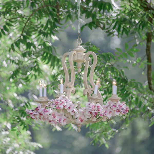 french chandelier (8 lights)