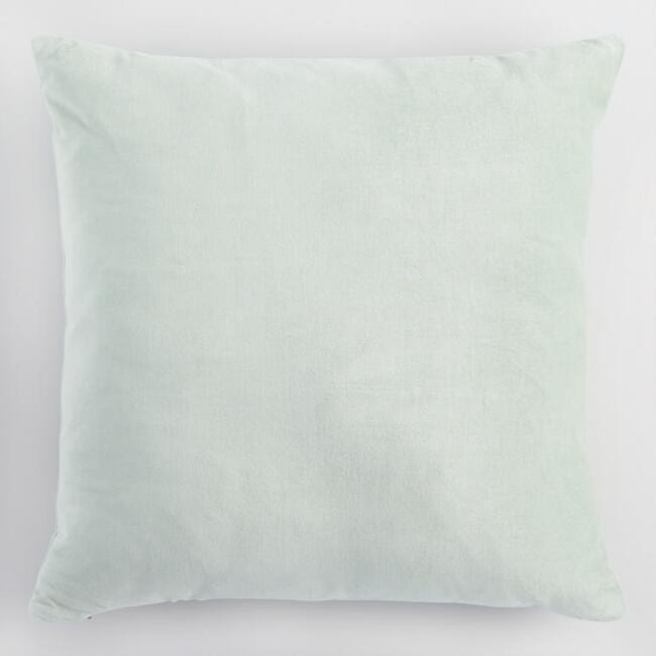 jadeite velvet pillow