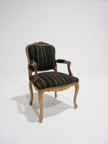 black sierra chair with arms