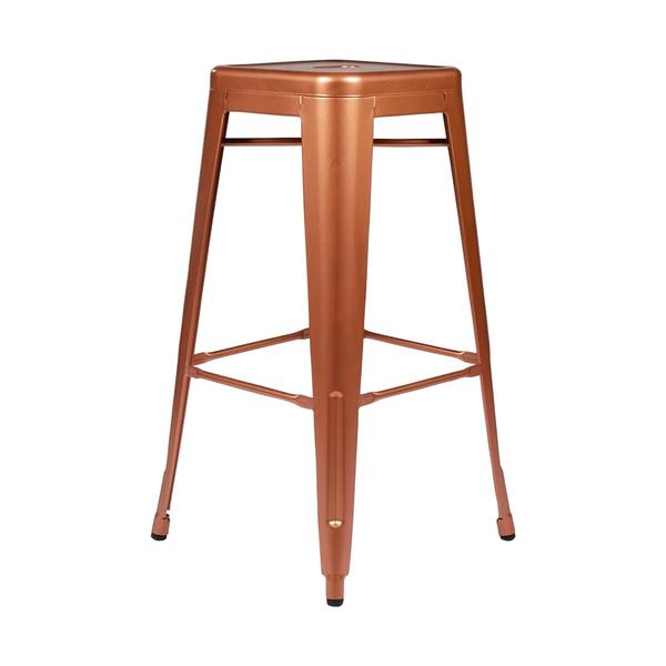 copper remington bar stool