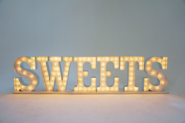 SWEETS marquee