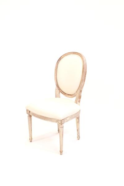 white estelle chair
