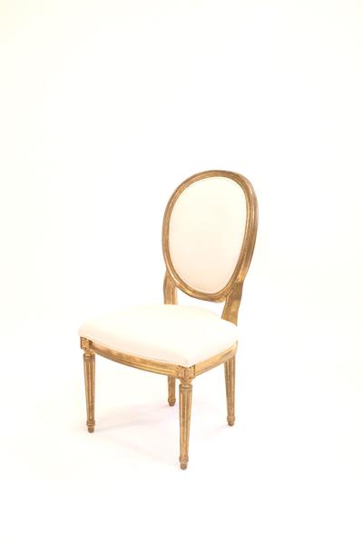 gold estelle chair
