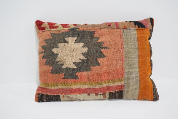 boho kilim lumbar pillow #3