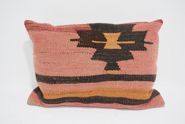 boho kilim lumbar pillow #6