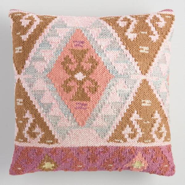 boho kilim pillow #12
