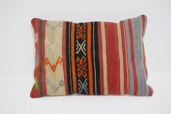 boho kilim lumbar pillow #5