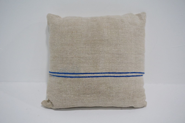 grain sack pillow #3