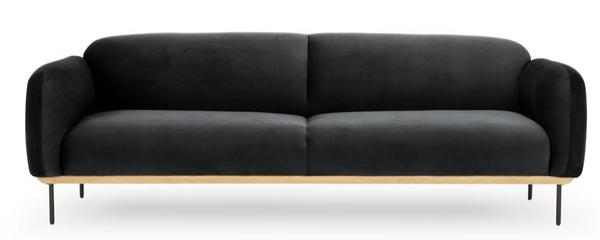 beck sofa {charcoal}