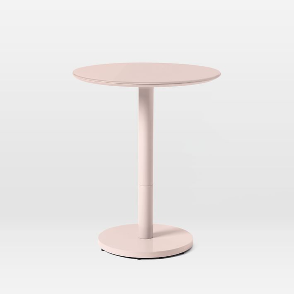 coban bistro table - blush