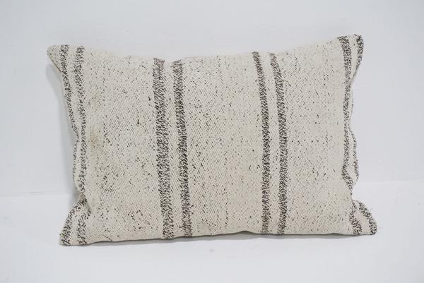 boho kilim lumbar pillow #1