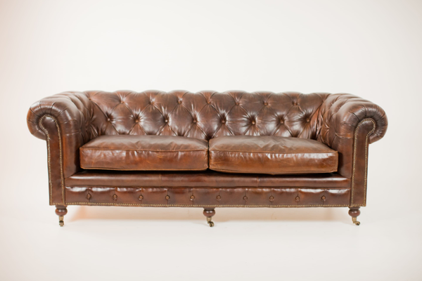 mumford leather sofa