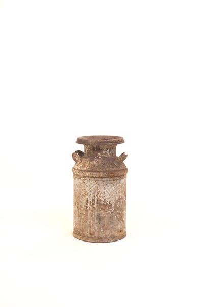 silver farmhouse milk jug