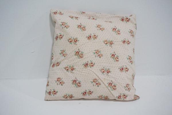 pink floral pillow #1