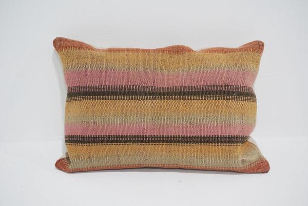 boho kilim lumbar pillow #4