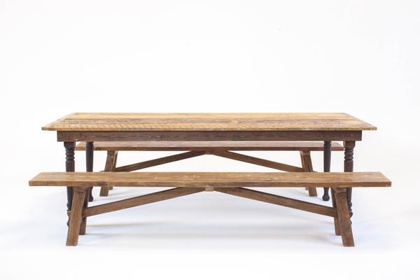 thompson farmhouse dining series: benches