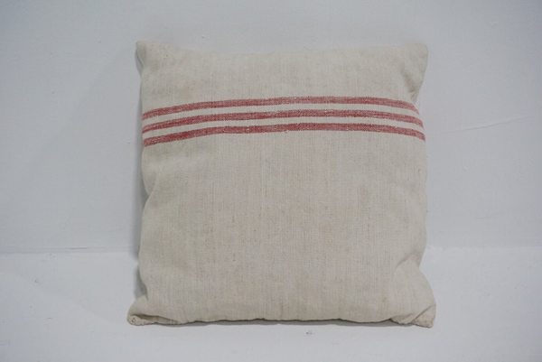 grain sack pillow #2