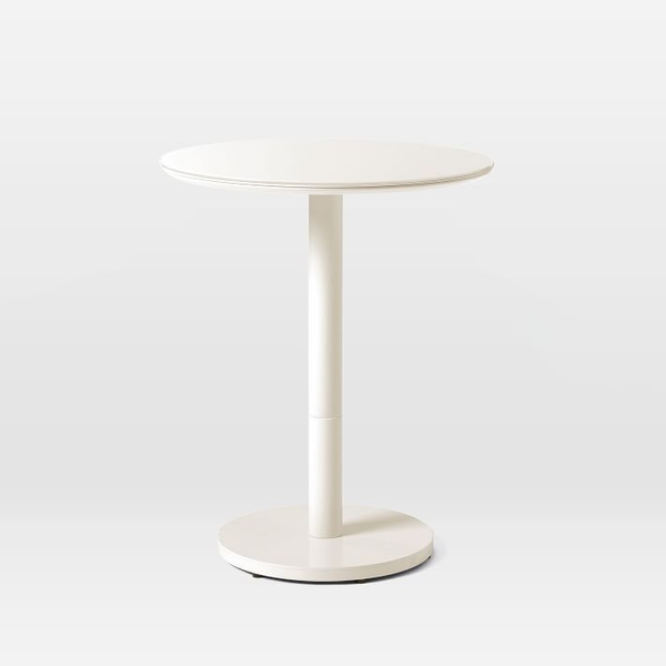 coban bistro table - white