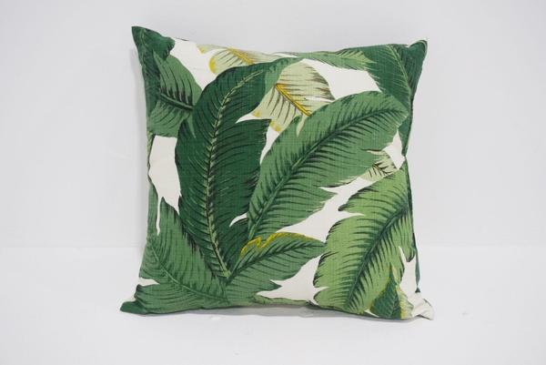 palm leaf pillow #2