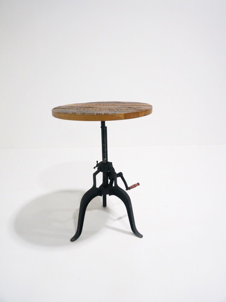 hopper crank table