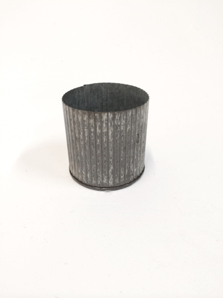 small corrugated tin