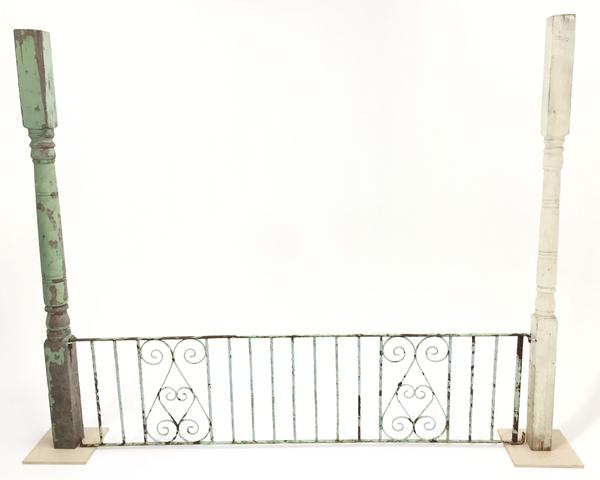 dahlson gate with columns