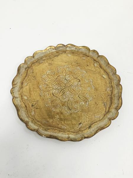 carmine florentine tray