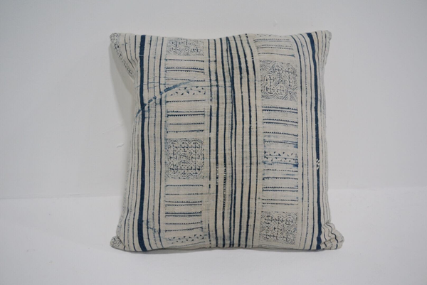 indigo pillow #1