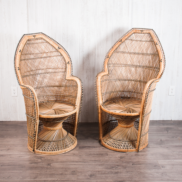 Large Peacock Chairs