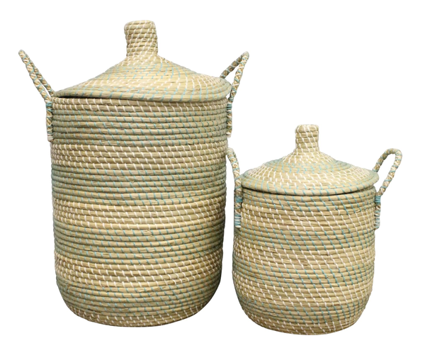 Coiled Basket - Pair