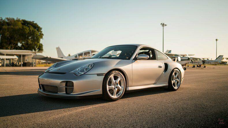 2001 Porsche 911 Clubsport [30,000 Miles, Arctic Silver Metallic, 3.6 Twin Turbo, M]