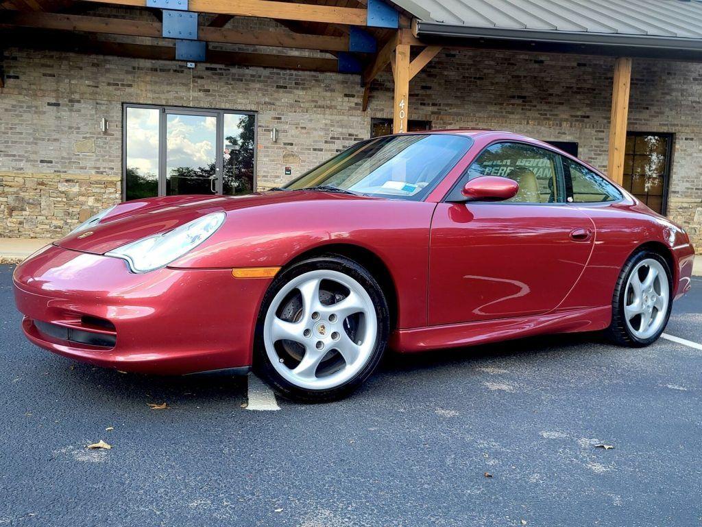 2002 Porsche 911 Carrera [Rare Orient Red Metallic Color]