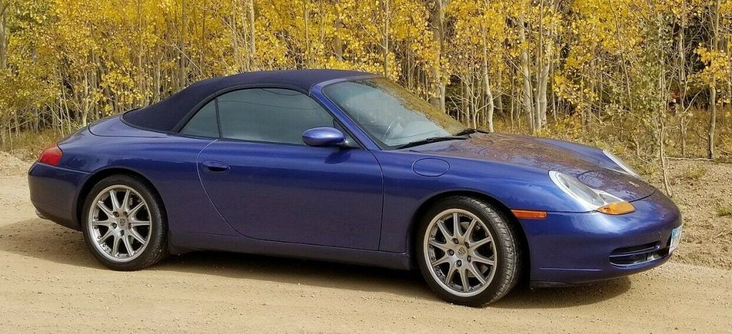 1999 Porsche 911 Carerra Convertible with only 30K miles