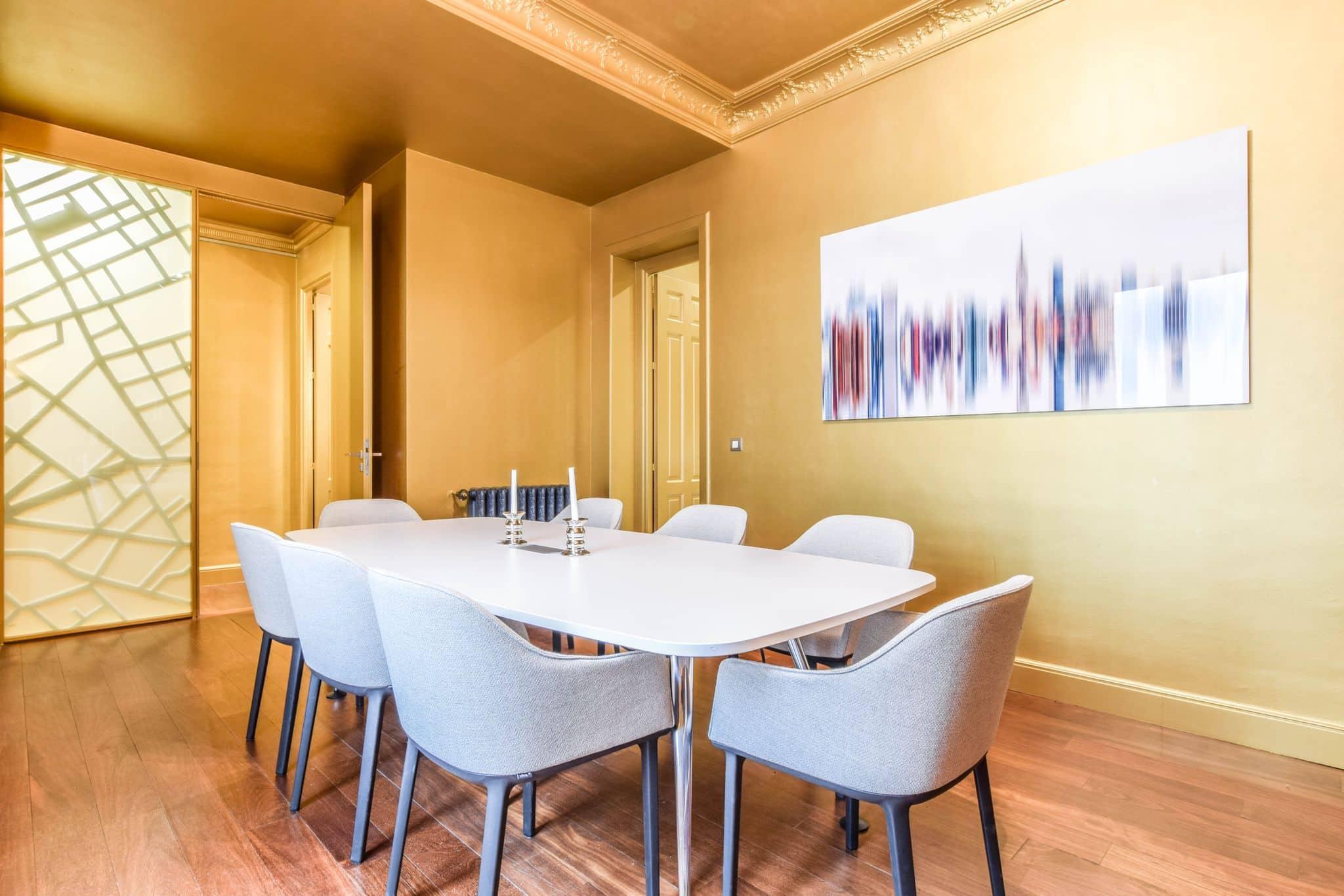 Borad Meeting Room in Madrid city