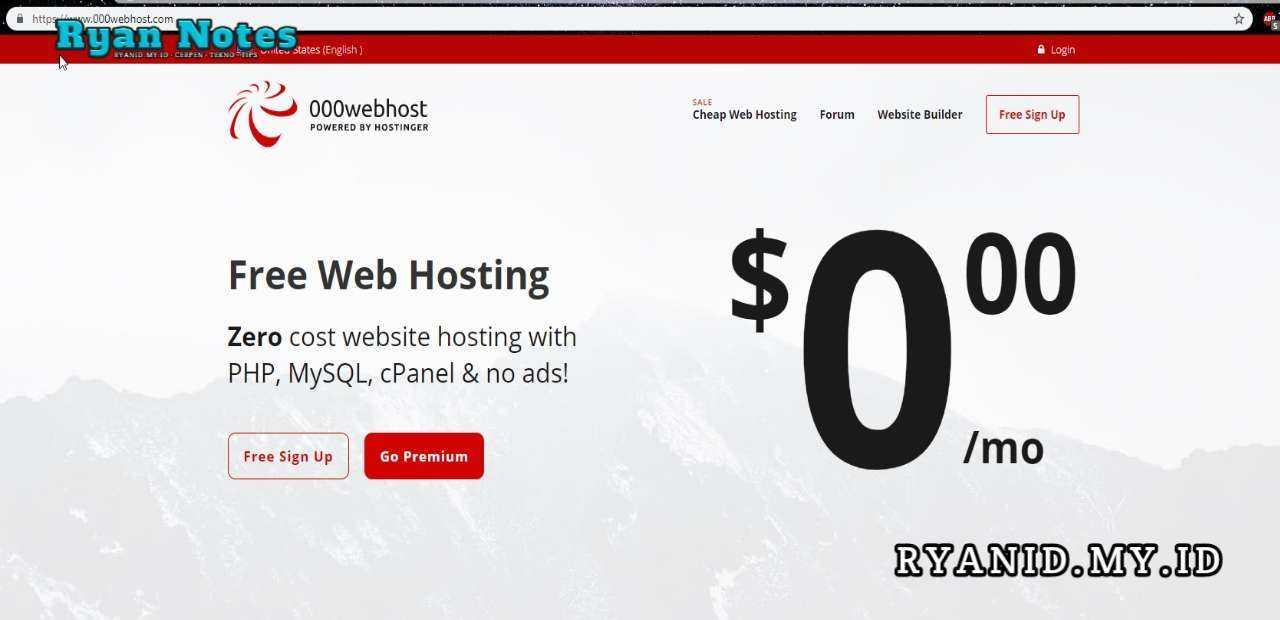 000webhost hosting gratis