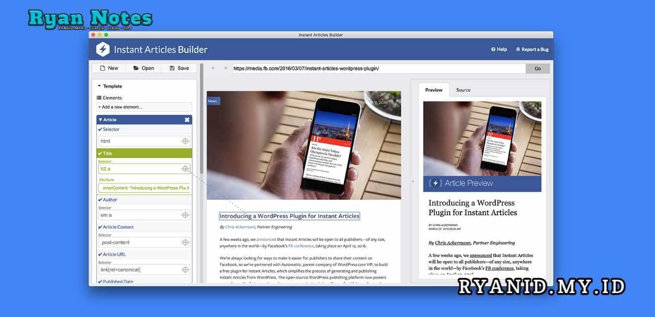 Plugin Instan Artikel Builder Khusus Wordpress