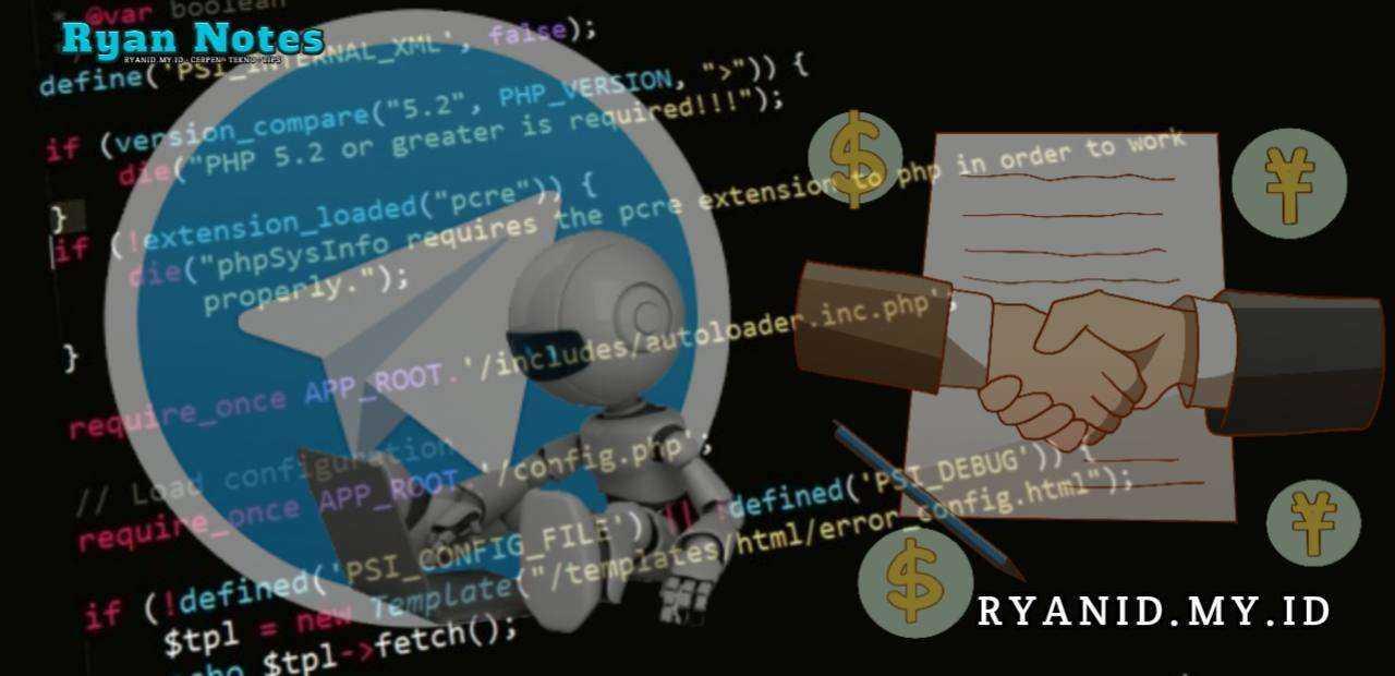 Cara membuat Bot Telegram dengan PHP RyanID