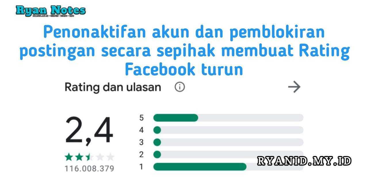 Rating Facebook Turun