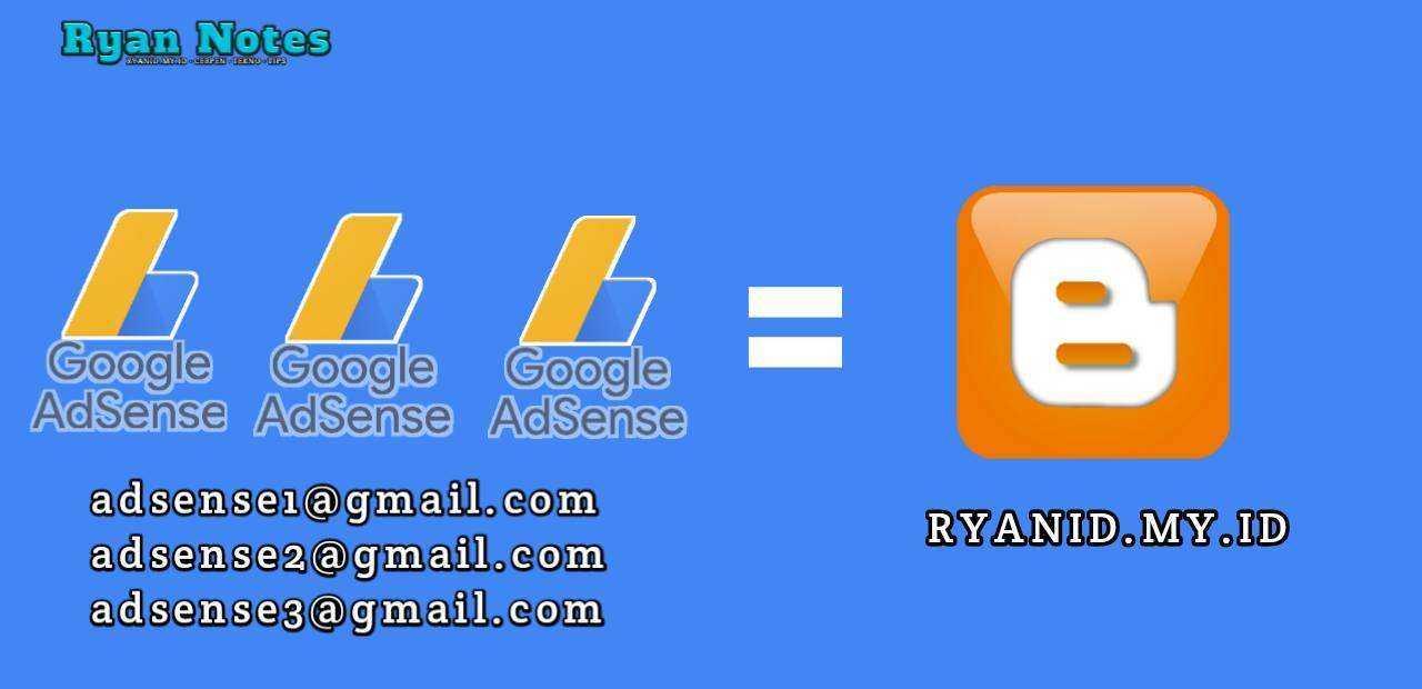 Ternyata satu Blog bisa dipasang banyak akun Adsense